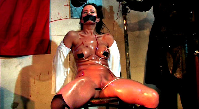 gagged and electrocuted