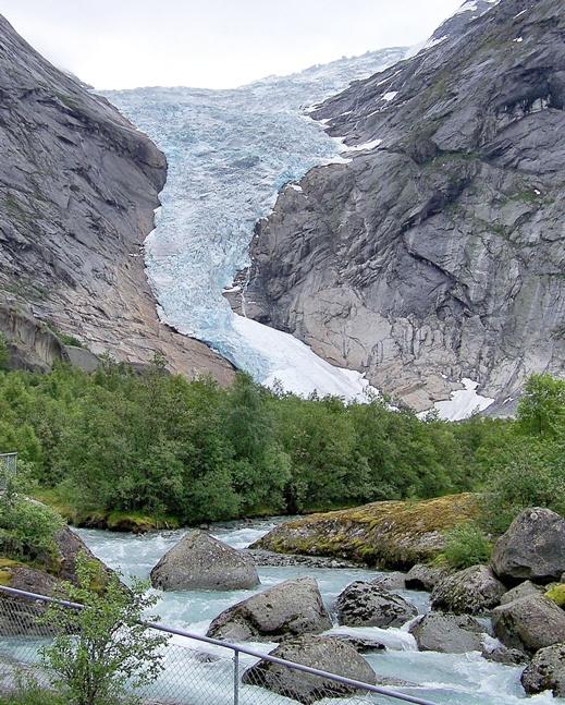 Glaciar Briksdal Noruega