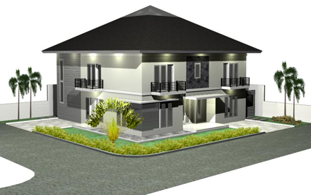 Luxury interior us tropical house design 2 modern for Tropical minimalist house design