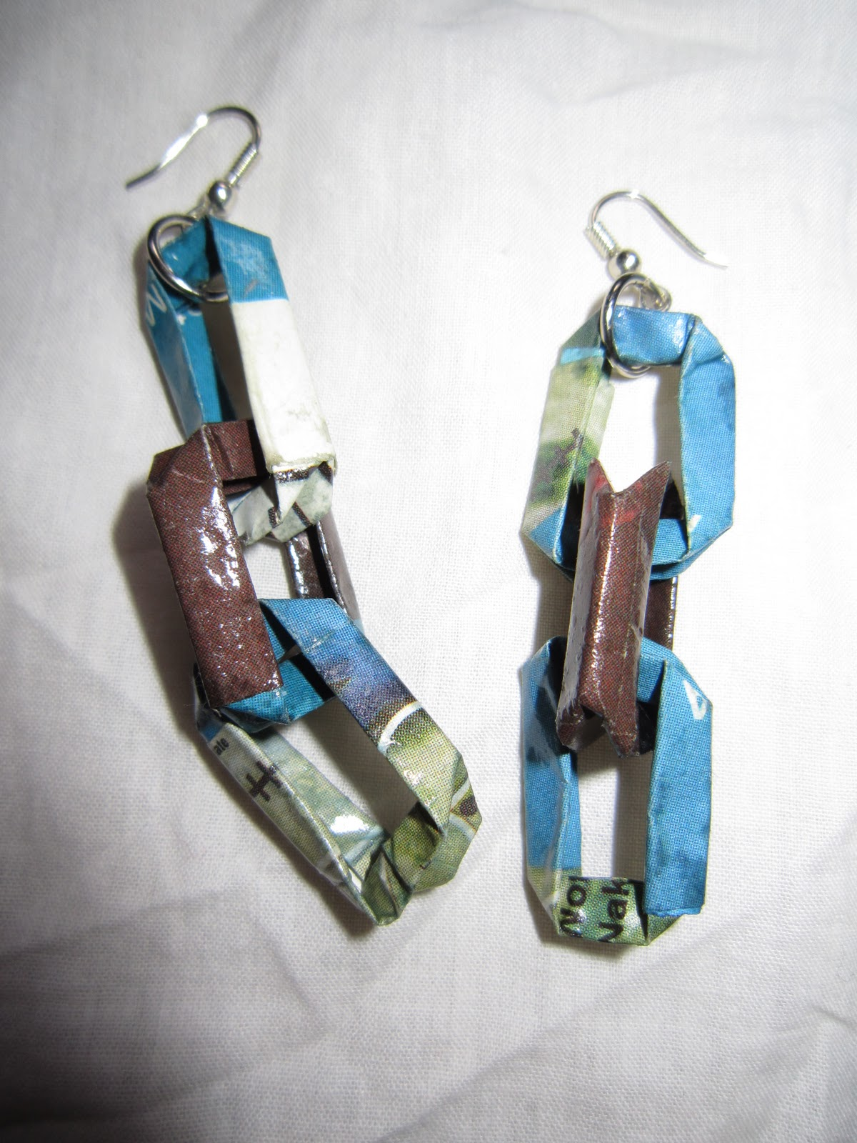 Fah creations handmade paper jewelry for Handmade paper creations