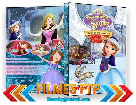Princesinha Sofia Feriado em Encantia 2014 DVD-R