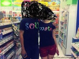 kaos couple alay