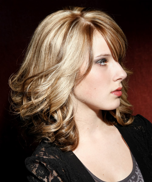 Medium Hairstyles for Thick Coarse Wavy Hair