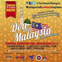#DoaUntukMalaysia