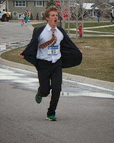 Debaters can run too!
