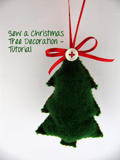 Handmade felt Christmas Tree decoration