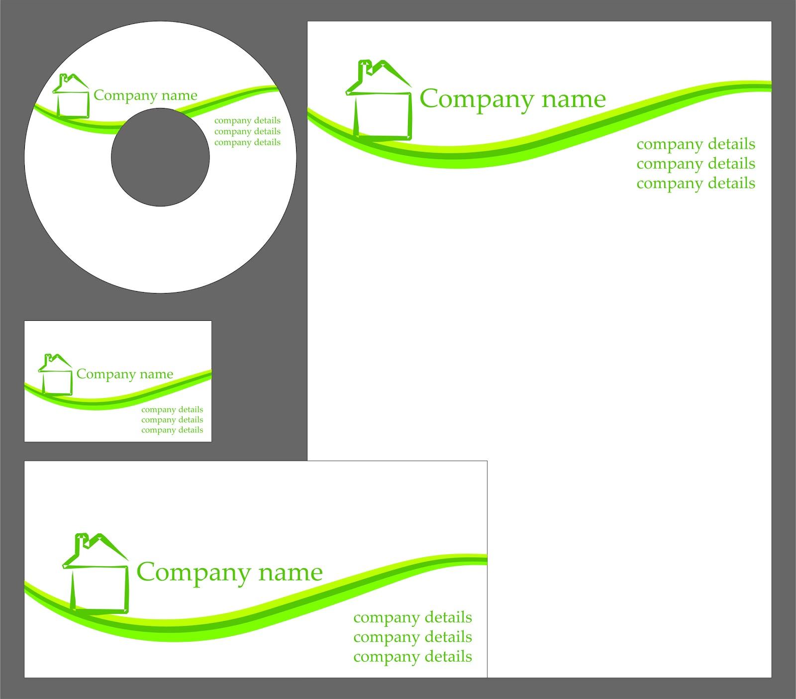 Format Kartu Nama Doc Download Desain Template Grafis