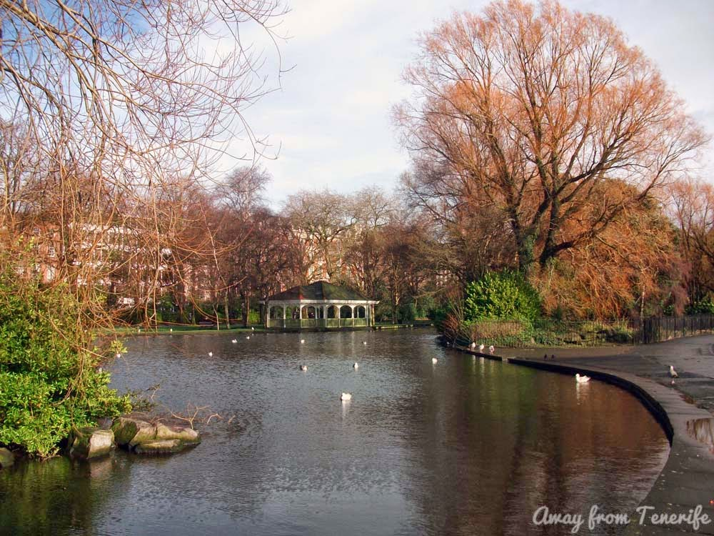 St Stephen Green, Dublin