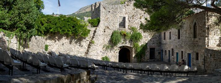 Амфитеатр в Старом Баре, Черногория