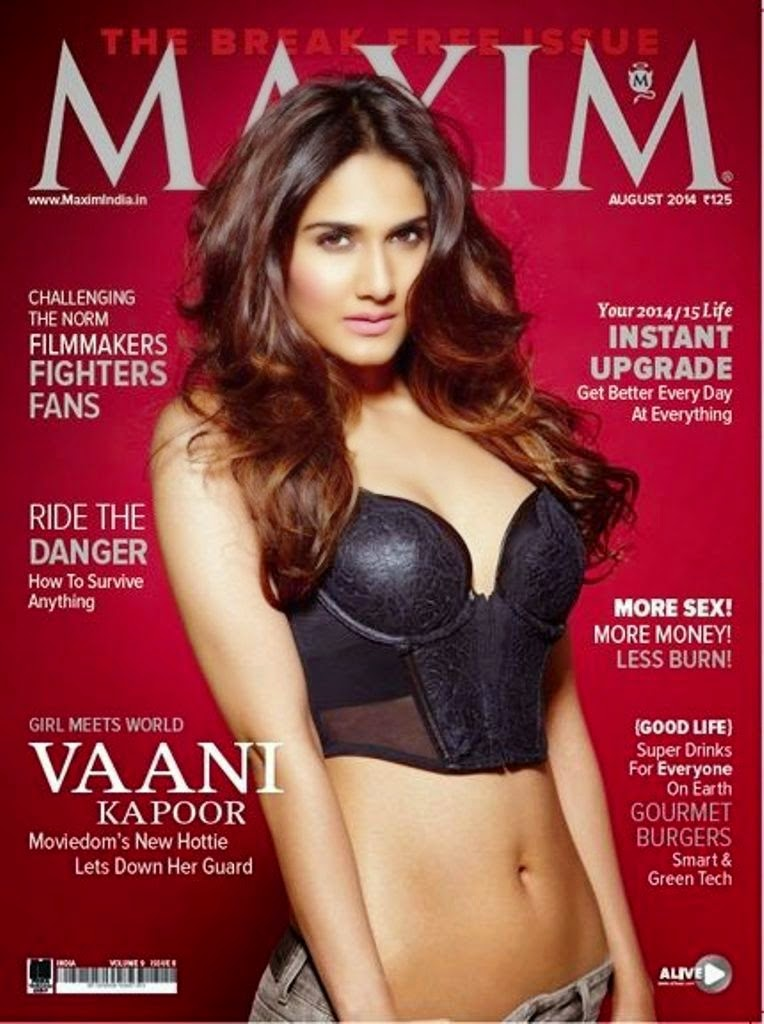 Vaani Kapoor Maxim India 2014 Photos