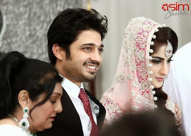 Babar Khan & Sana Khan wedding picture
