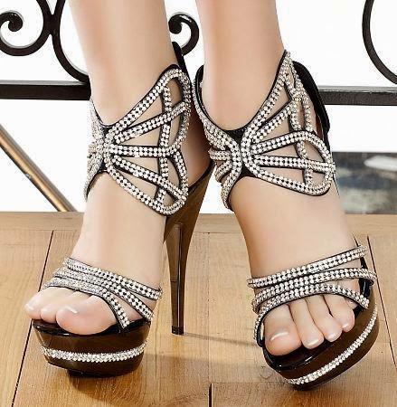Yeni Moda Bayan Abiye Ayakkabı Modelleri