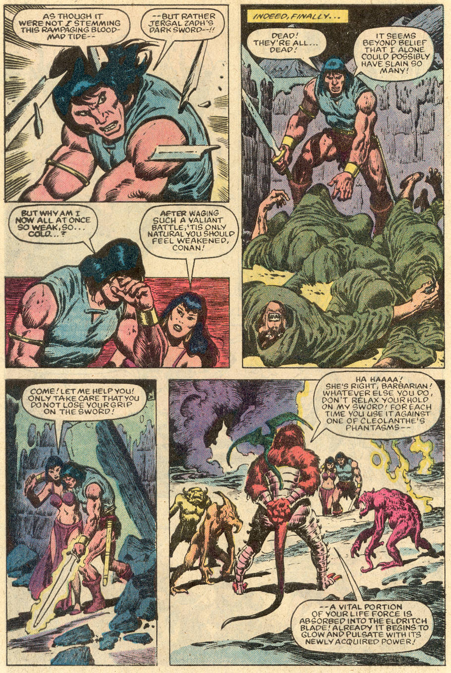 Conan the Barbarian (1970) Issue #152 #164 - English 10