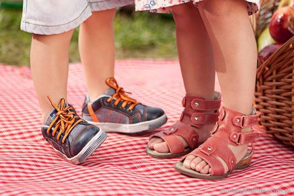 plumitas sandalias niñas verano 2014