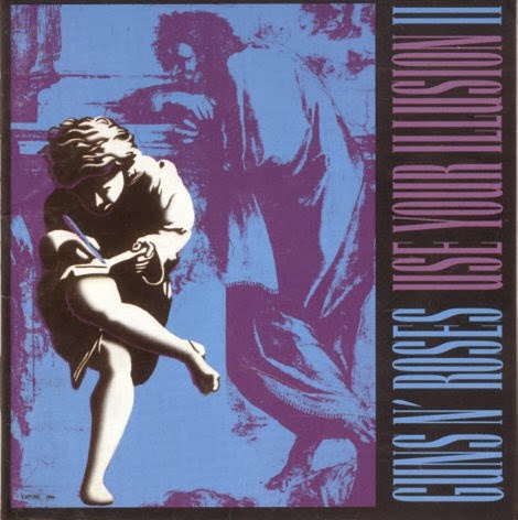 Gun's N' Roses Use Your Illusion 2 CD Capa