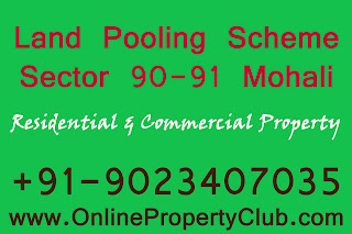 Gmada Sector 90 91 Plots, land pooling scheme plots buy sell