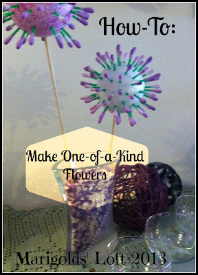 one of a kind flowers tutorial