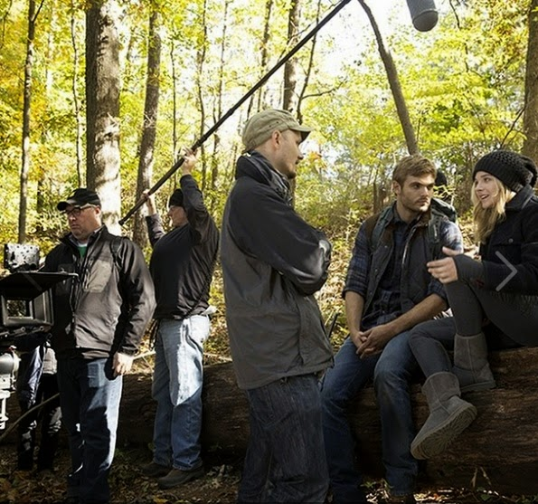 chloe grace moretz j blakeson alex roe 5th wave movie behind the scenes filming