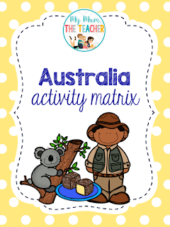 https://www.teacherspayteachers.com/Product/Australian-Activity-Matrix-1223885