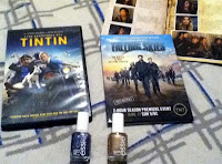 Klout Perks-dvds and polish image