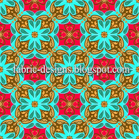 geometric patterns for fabric printing 2