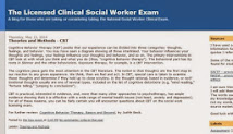 The Licensed Clinical Social Worker Exam Blog