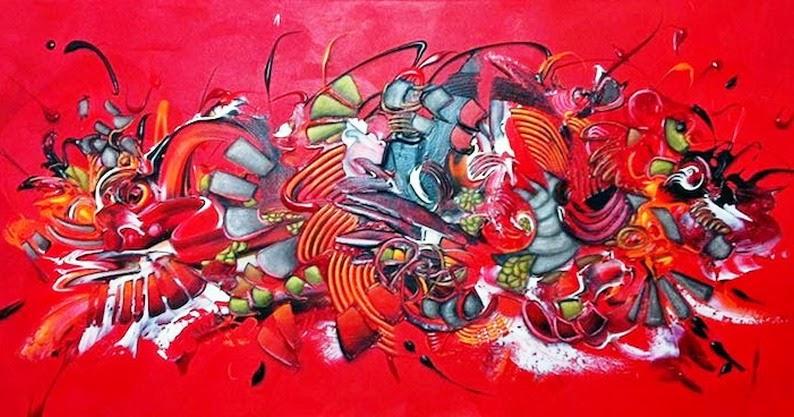 Im genes arte pinturas las mejores pinturas en acr lico for Imagenes de cuadros abstractos rusticos