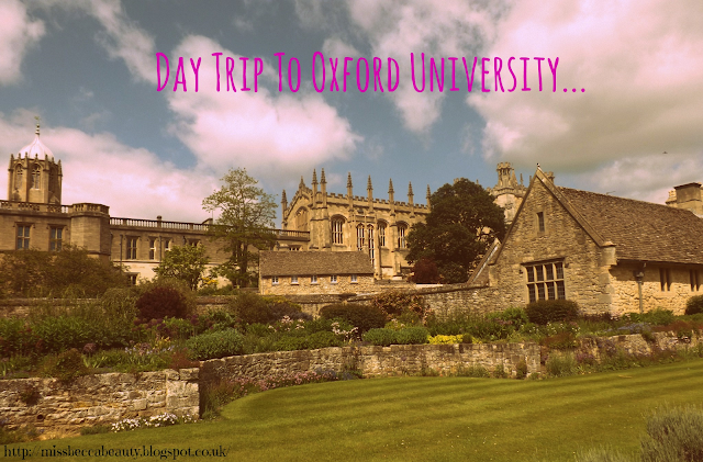 Day Trip To Oxford University