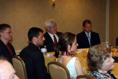 Newt Gingrich Consults Southern GOP Leaders
