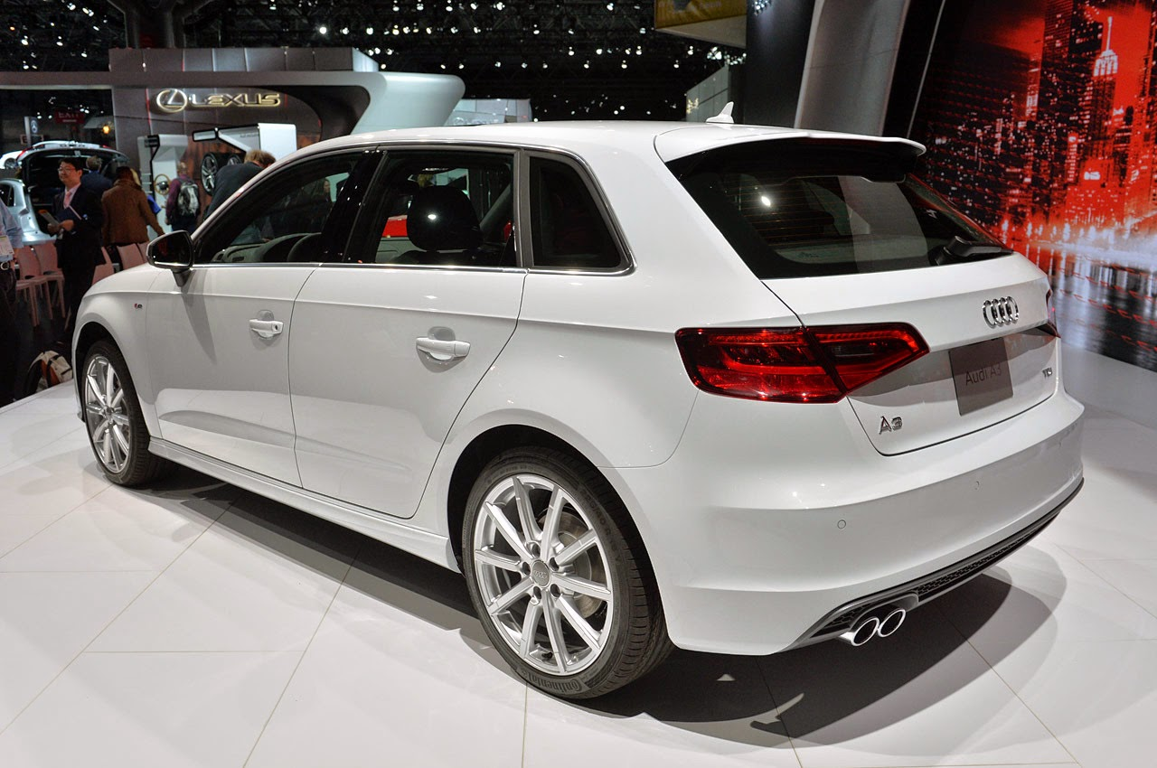 automotiveblogz 2015 audi a3 tdi sportback new york 2014 photos. Black Bedroom Furniture Sets. Home Design Ideas