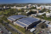 UQ's solar array is the largest flat-solar panel system in Australia