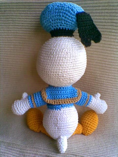 Amigurumi Finger Puppets Free Pattern : Donald Duck ~ Zan Crochet