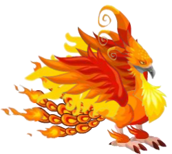 dragon pajaro de fuego adulto