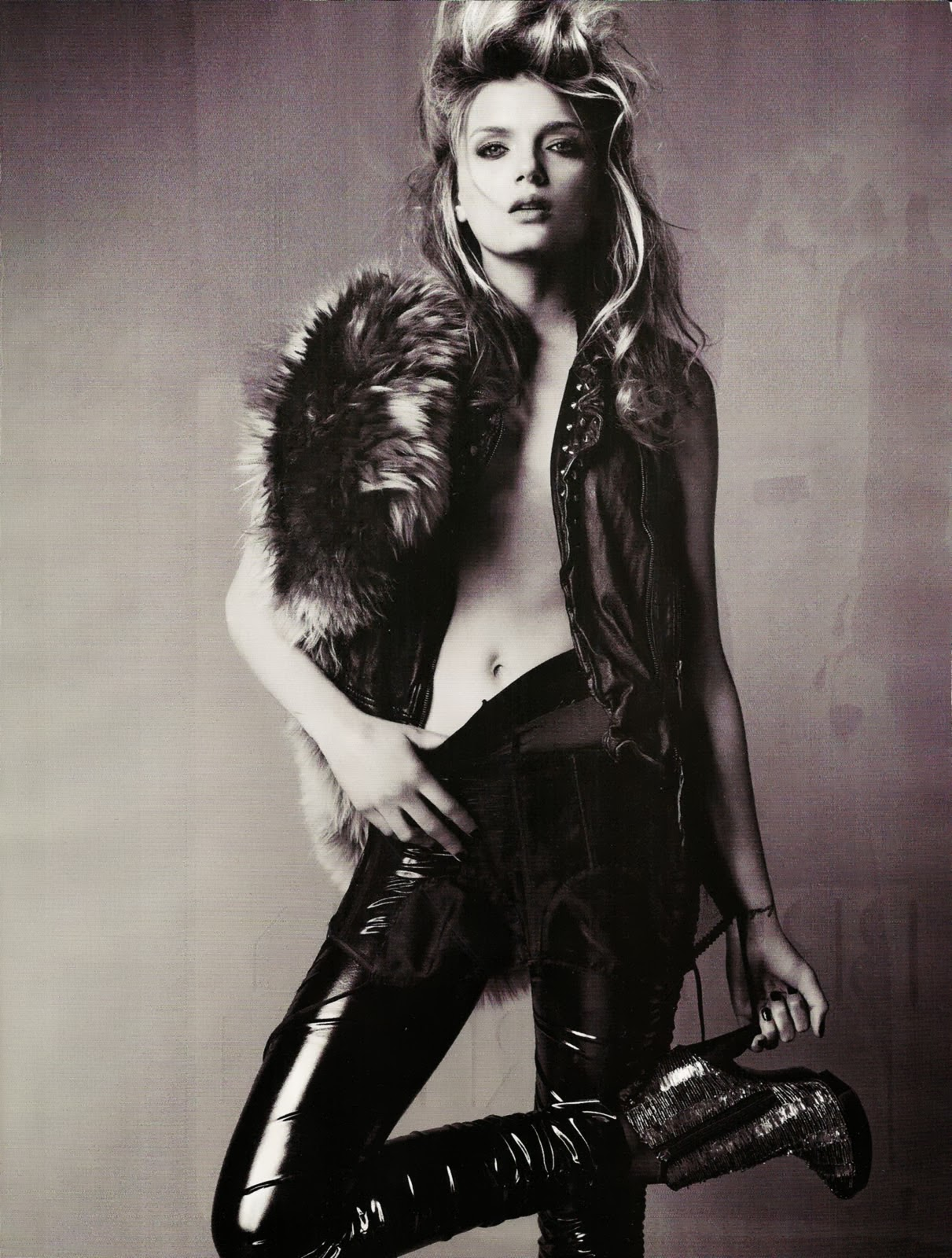 Tendencias Compartidas Moda En El Dise O Glam Rock Interpretaci N De Un Look