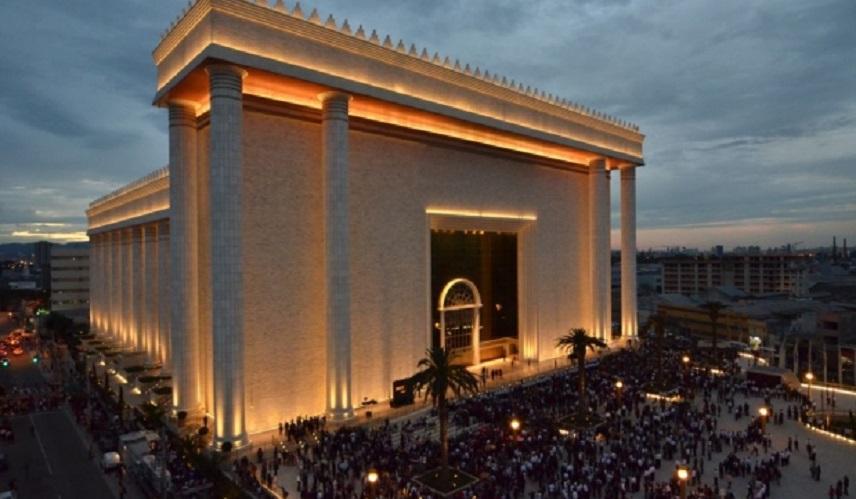 Templo de Salomão - Sede Mundial da Igreja Universal do Reino de Deus - IURD