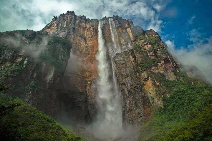 Angel Falls - Canaima (Venezuela)   La cascata più alta del mondo (979 mt)