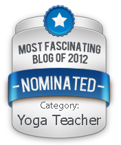 Nominated Most Fascinating Blog of 2012