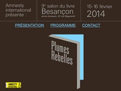 Plumes Rebelles - Accueil, présentation, programme