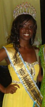 miss international bahamas 2011 winner lakendis brown