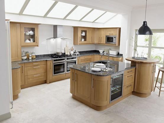 Desain ruang dapur kontemporer dari Second Nature