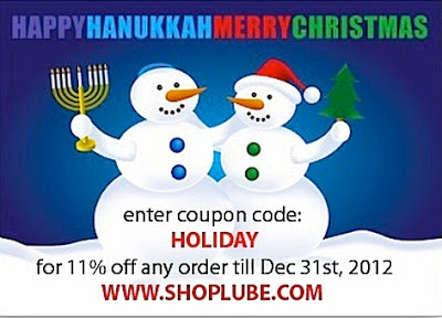 Happys Holidays from www.shoplube.com