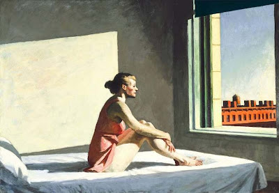 Edward Hopper - morning sun ,1952