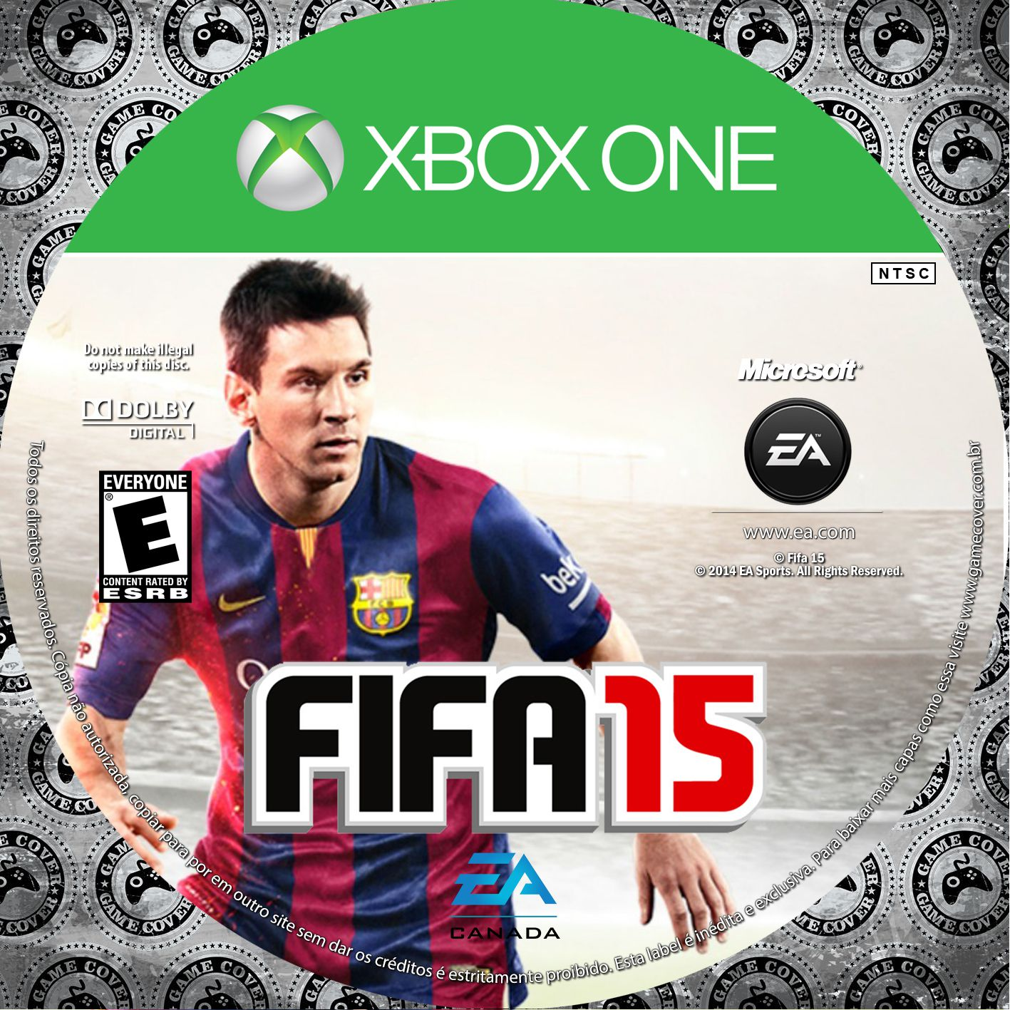 Label Fifa 15 Xbox One [Exclusiva]
