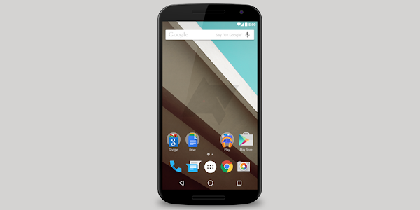 Google Nexus 6 with Android 5.0 L
