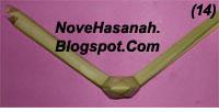 langkah-langkah membuat kerajinan tangan anak berbentuk ayam yang lucu dari bahan alami janur kelapa 0