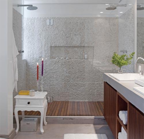 decoracao no banheiro : decoracao no banheiro:espelho é um objeto coringa! Além de ser essencial em um banheiro