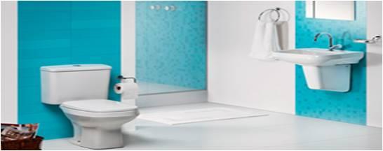 Teia Design Expo Revestir  Lançamentos Banheiros -> Cuba Para Banheiro De Apoio Thema Biscuit Incepa