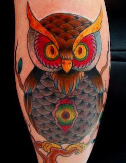 dicas e sugestões de Tatuagens de Coruja