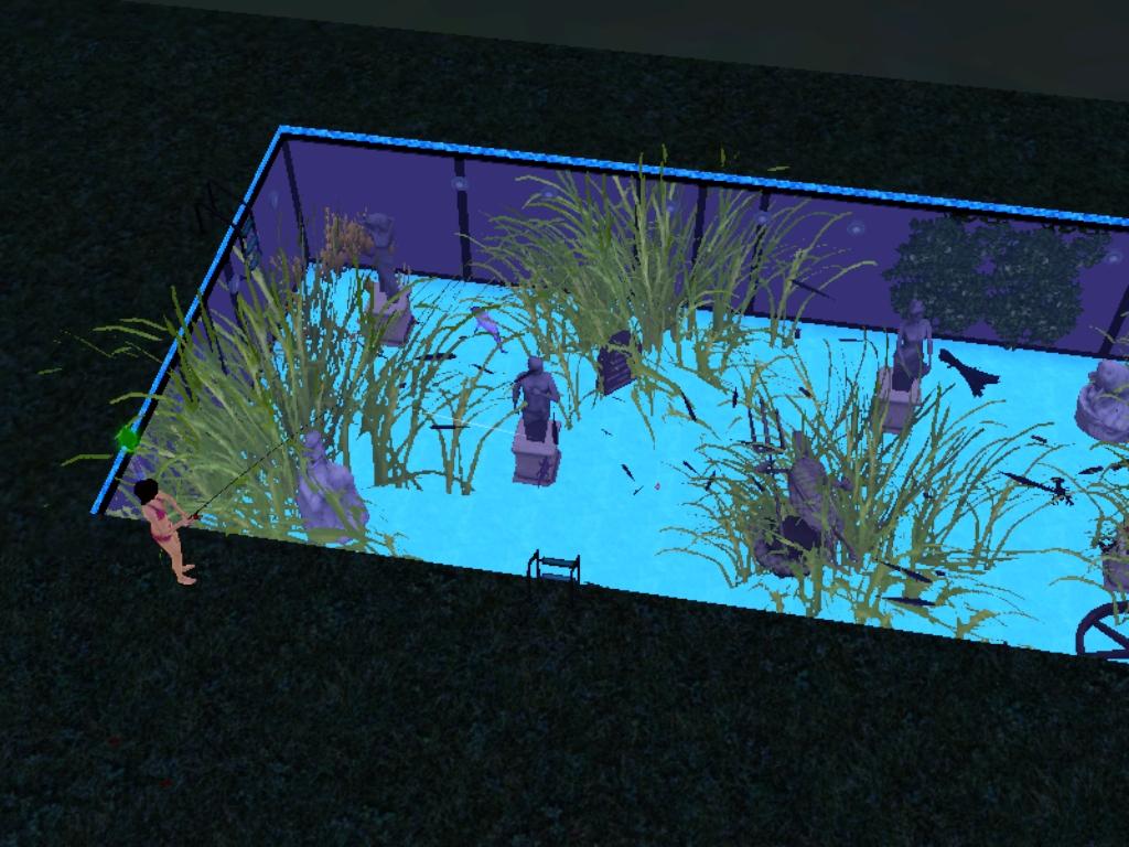 Piscina pecera los sims 3 for Piscina de peces