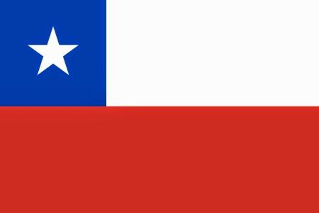 """Emblemas Patrios de Chile """"Bandera"""""""